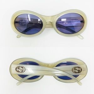 Vintage | Gucci Sunglasses GG 2400/N/S Pearl Blue